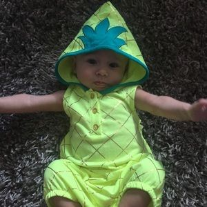 Other - Pineapple romper